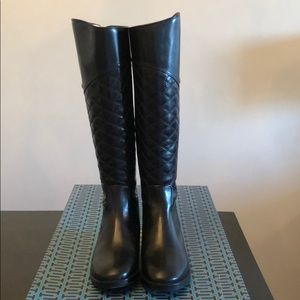 Tory Burch Claremont Leather Riding Boots